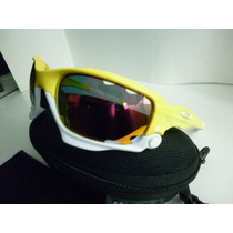 Oakley Jawbone 3 Micas Made In Usa Amarillo Blanco