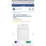 Secadora Electrica * Nueva * General Electric