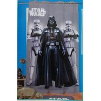 Cortina Con Ojillos Para Recamara Star Wars Para Niños