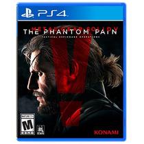 .: Metal Gear Solid V Phantom :. Para Ps4 En Start Games
