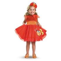 Disfraz De Elmo Plaza Sesamo Para Niñas Y Bebes Envio Gratis