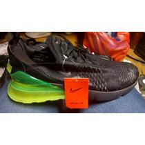 Tenis Nuevo Nike Air Max 270 Blanco Válvula Verde