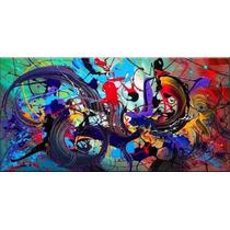 Pintura Abstracta Hecha A Mano (oleo)