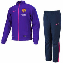 Conjunto Pans Nike Barcelona España Autentic Mod 2015-2016