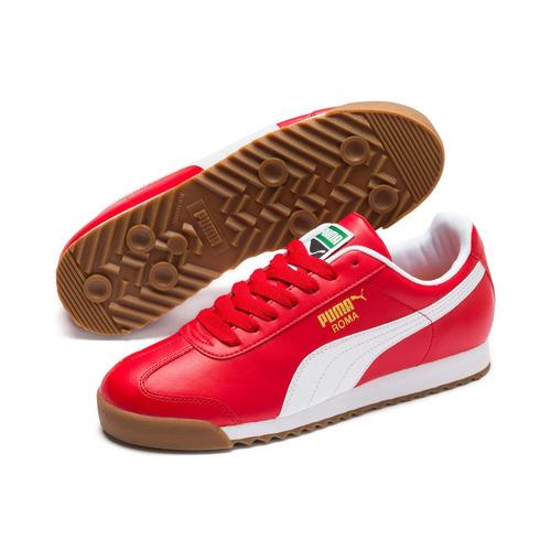 tenis puma para hombre rojos