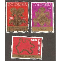 Orfebreria Culturas Prehispanicas Colombia 1970