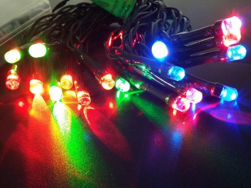 6f7ffc5c672 Serie Navideña Led De Baterias 2m 20 Luces Varios Colores