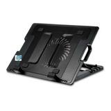 Base Enfriadora Laptop Metalica Cinco Posiciones Cooler !