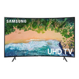 Smart Tv Samsung Curvo 4k 55  Un55nu7300kxzl