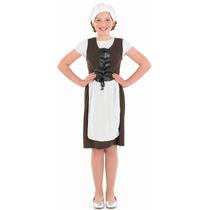 Tudor Traje - Chicas Grande 8-10 Años Vestido De Lujo Del L