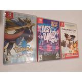 Cajas Usadas Para Juegos De Nintendo Switch