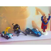Dc Comic Kinder Sorpresa Figuras Miniatura Huevo Chocolate