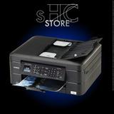 Impresora Brother Mfc-j480dw Wi-fi+cartuchos Tinta Continua