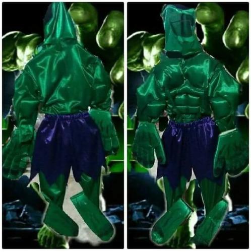 fb749c07fc9f1 Disfraz De Hulk O El Hombre Increíble Niños Envío Gratis