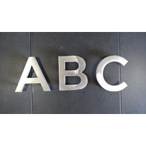 Letras De Aluminio De Fundición Para Centros Históricos