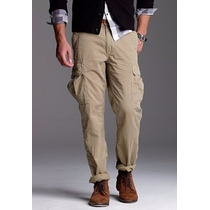 Padrisimo Pantalon Gap Cargo Camel Talla 34x30 100% Original