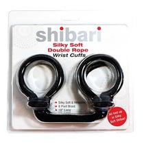 Shibari Suave Sedoso Dobles Puños De La Cuerda De La Muñeca