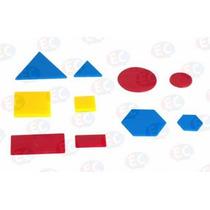 Edu012 Bloques Lógicos Material Didactico 60 Piezas Plástico