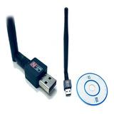Antena Receptor De Wifi Usb 2.0 150mbps Con Envío Gratis