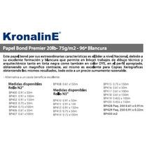 Rollo De Papel Para Plotter Bond 75 Grs. .91 X 50 M Bp400