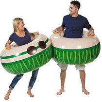 Inflable Luau Adulto Boppers Cuerpo (2 Pack) 43 X 21 1/2 C