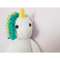 Unicornio Amigurumi Gigante - $ 1.350,00 en Mercado Libre | 210x210