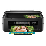 Impresora A Color Multifunción Epson Expression Xp-211 Con Wifi 100v/240v Negra