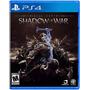 ¡¡ Middle Earth Shadow Of War Para Ps4 En Wholegames !!