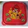 Fiesta Angry Birds Sandwichera Tupper Dulcero