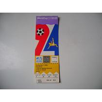 Campeonato Mundial De Futbol Usa 1994 Boleto De Futbol B