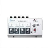 Micro Mezcladora De 4 Canales Mono Mm-1401