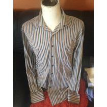 Padrisima Camisa De Vestir Marca Gap T.xl Semi/nueva
