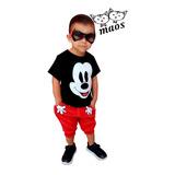 Jogger Y Playera Mouse #coordinado Para Niños