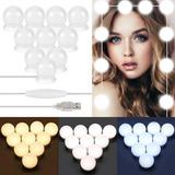 Luces Para Espejo Tocador Maquillaje Lonk 10 Led Bombillas