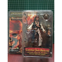 Neca Potc Piratas Del Caribe Cannibal Jack Sparrow Exclusive