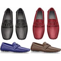 Mocasin Louis Vuitton Taig Envio Inmediato Y Meses S/i