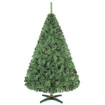 Arbol De Navidad Monarca De Lujo Verde Nevado 220cm Alt