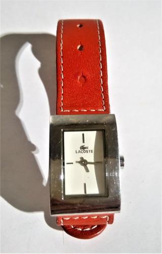 Reloj Lacoste Dama Correa Piel Ajustable  2200 Envió Gratis 82b31059a0