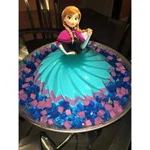 Molde Jumbo Gelatina Artistica Falda Princesas Disney