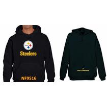 Sudadera Pitsburgh Steelers Tipo Nfl (personalizada) Nf9516