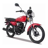 Moto Italika Ft125 Rojo / Negro
