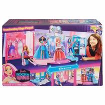 Barbie Escenario De Barbie Rockn Royals Con Camerinos Nuevo