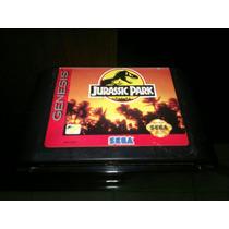 Jurassic Park Para Sega Genesis,funcionando Perfecto