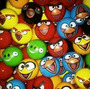 Pelota Esponja 47 Mm Angry Birds Bolsa Con 50 Pzas Vending