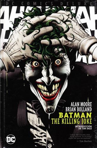 Dc Comic Deluxe Batman The Killing Joke Sellado Español