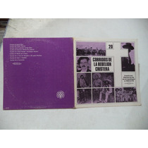 Corridos De La Rebelion Cristera 1980 Lp Con Texto Coleccion