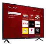 Pantalla Led Tcl 40  Fhd Smart Tv 40s331-mx Roku Tv