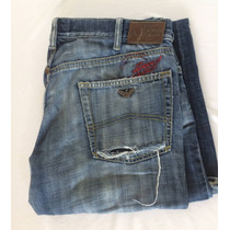 Jeans Armani Jeans Pantalon Italiano Importado 36 C/detalle