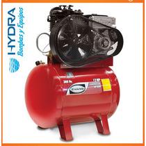 Compresor Lubricado Estacionario 2 Etapas A Gasolina 14 Hp
