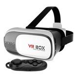 Lentes De Realidad Virtual Vr Box + Control iPhone Y Android